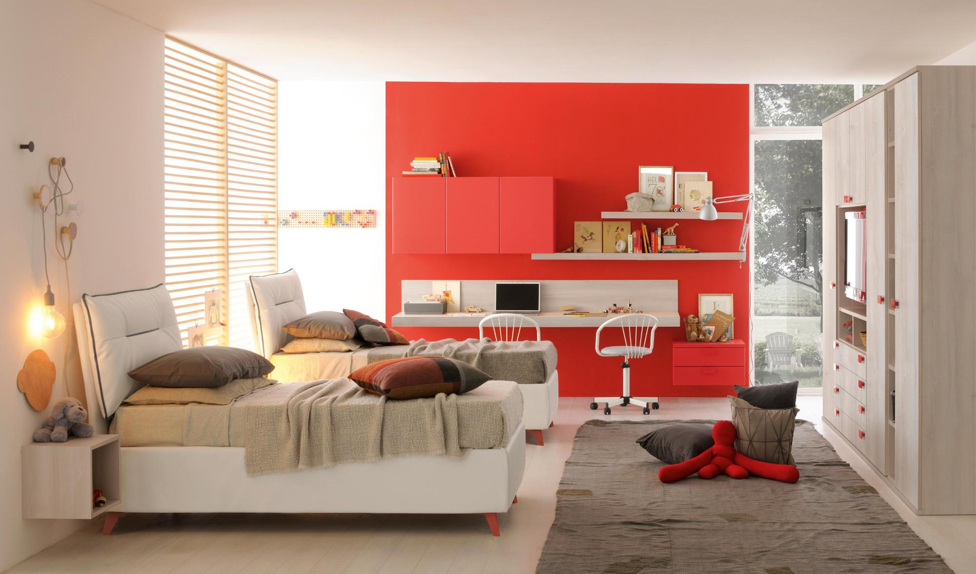 GOLF CAMERETTE ROSSO